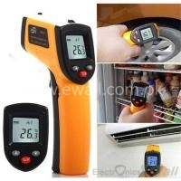 Non-Contact Infrared Thermometer with Laser Targeting/LCD Display