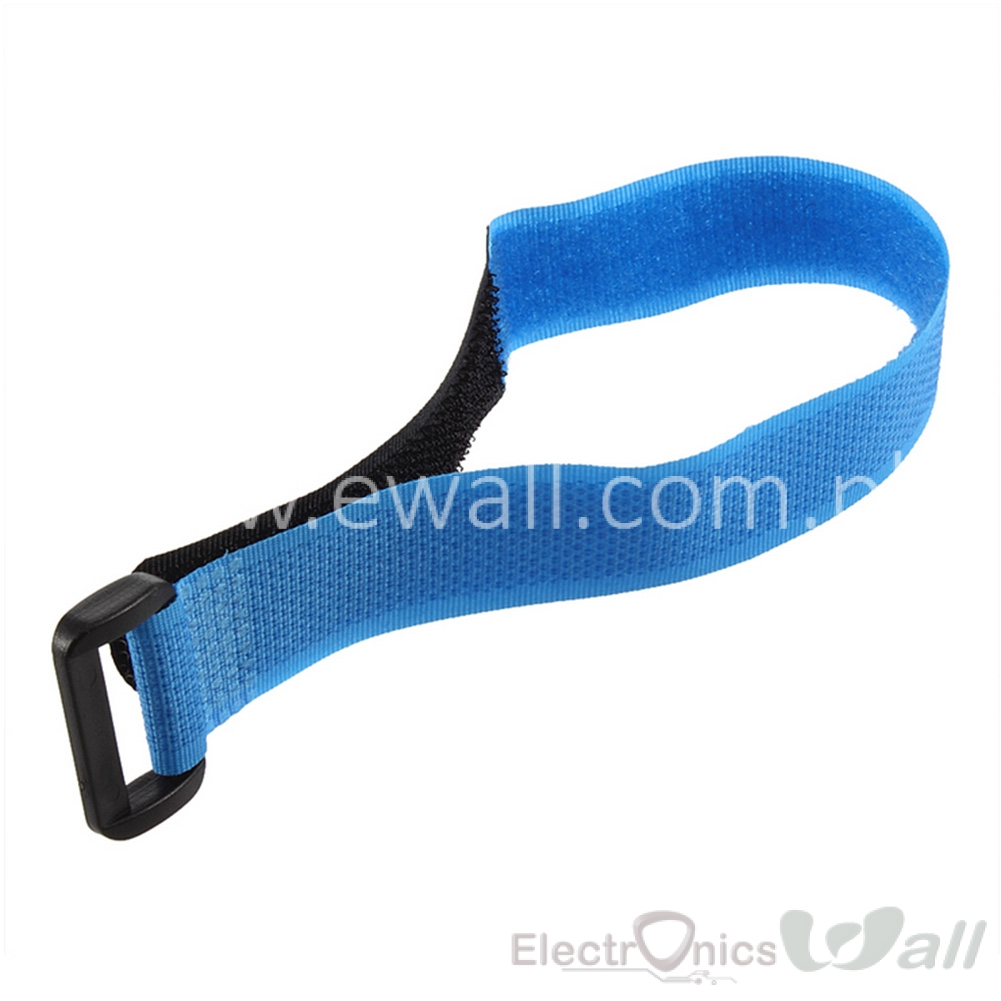 Blue Velcro Battery Strip 27*2cm