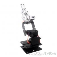 3 DOF Robot Arm Clamp Claw Mount Servo Bracket Kit (with MG996R Servo) For Remote Control Smart Robot