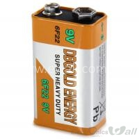 9V BATTERY 6F22 DBGOLD Heavy Dutty Galon type Cell