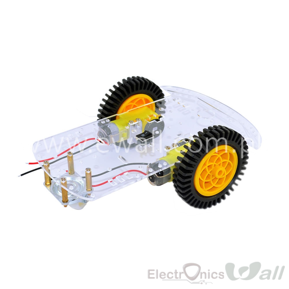 DIY 2WD Smart Car Chassis 3 wheel for Arduino high quality