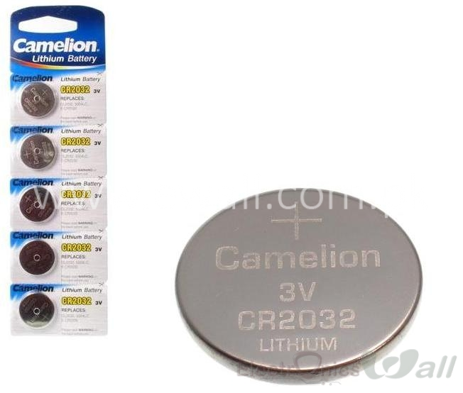 3V CR2032 Lithium Button Cells for RTC Module etc