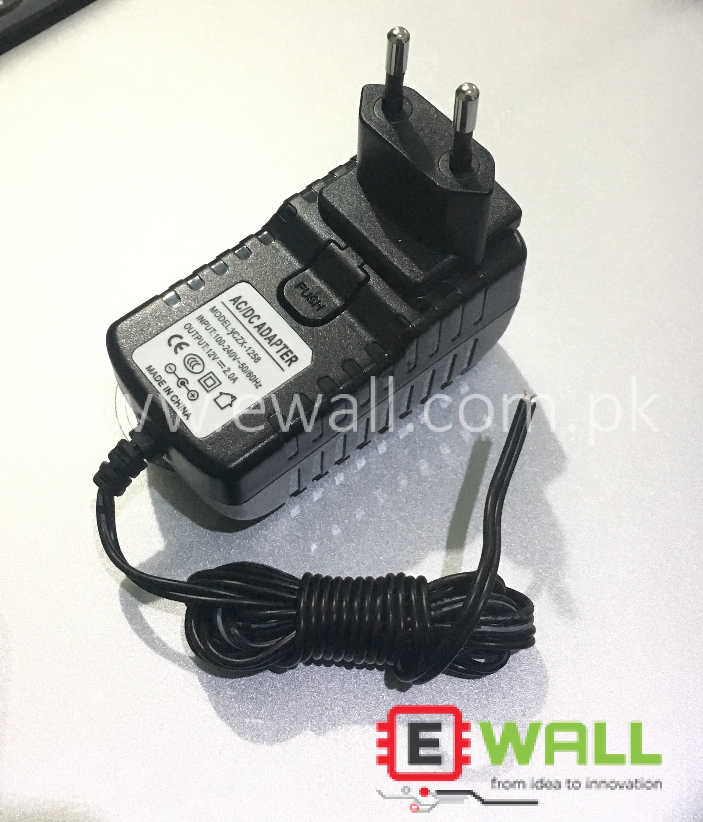 2A 12V AC 220V to DC Adapter (Highest Quality) Original 2A Adapter