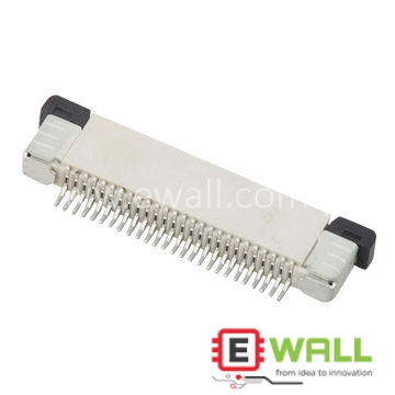FPC 0.5mm H:2.0 Push-Pull SMT R/A Upper Type Connector 20 pin