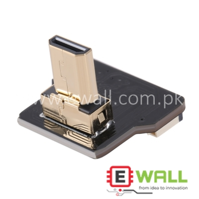 20Pin Micro HDMI Type D Up Angled 90 Degree Male Connector for FPV HDTV Multicopter Aerial Photography