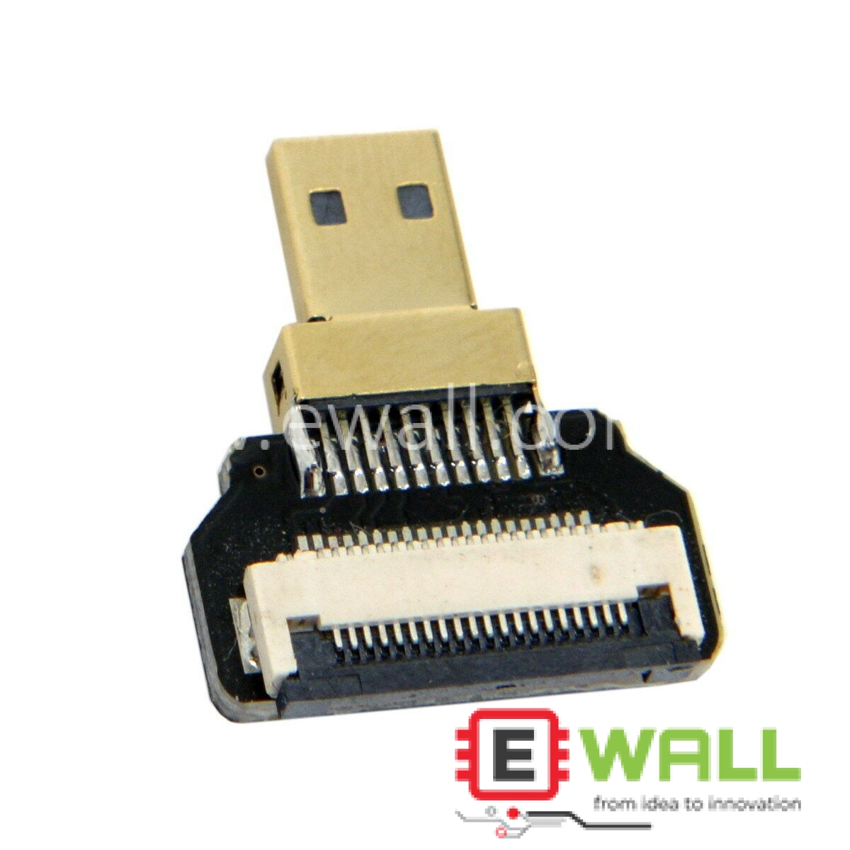 20pin Micro HDMI Type D  type Straight  Degree Male Connector for FPV HDTV Aerial Photography