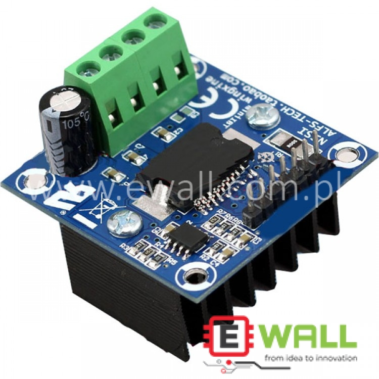 5A Mini IBT Arduino Hollow Cup Motor Driver Module H Bridge 12-48V/5A Strong Braking