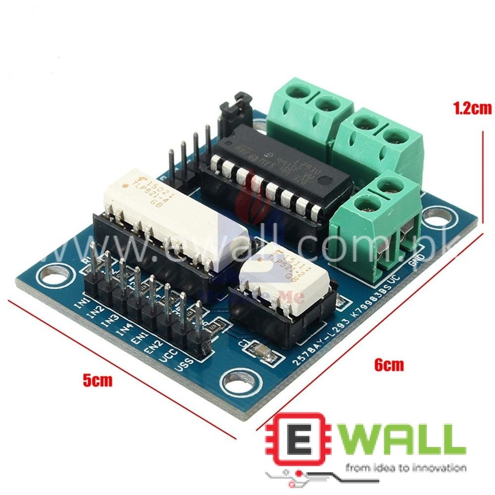 L293 Motor Driver Expansion Shield Control Board Dual H-Bridge