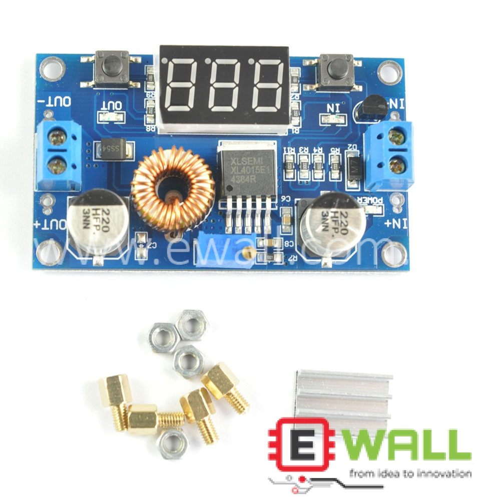 75W DC Buck Boost Voltage Converter Constant Current Module Step Power Up