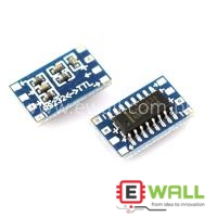 Mini RS232 to TTL Converter Adaptor Board Module MAX3232 3-5V