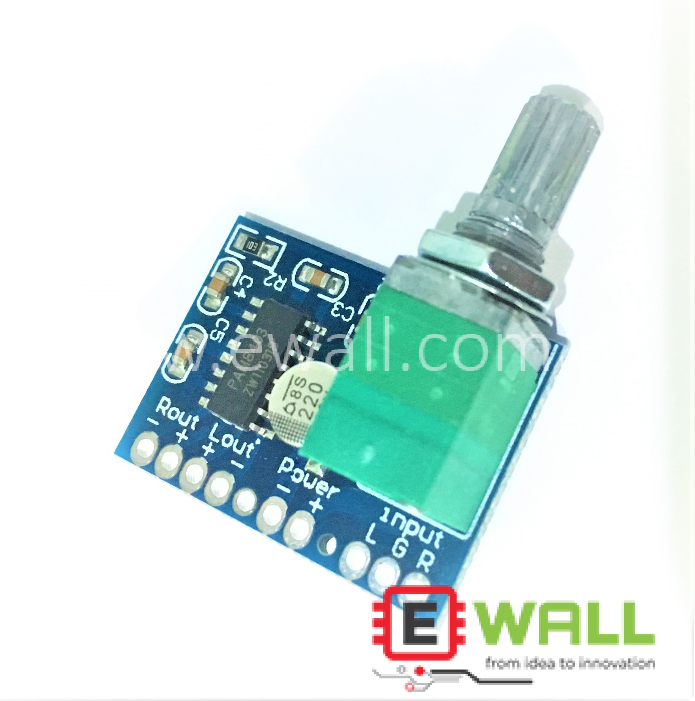PAM8403 5V 2 Channel USB Power Audio Amplifier Board 3Wx2W Volume