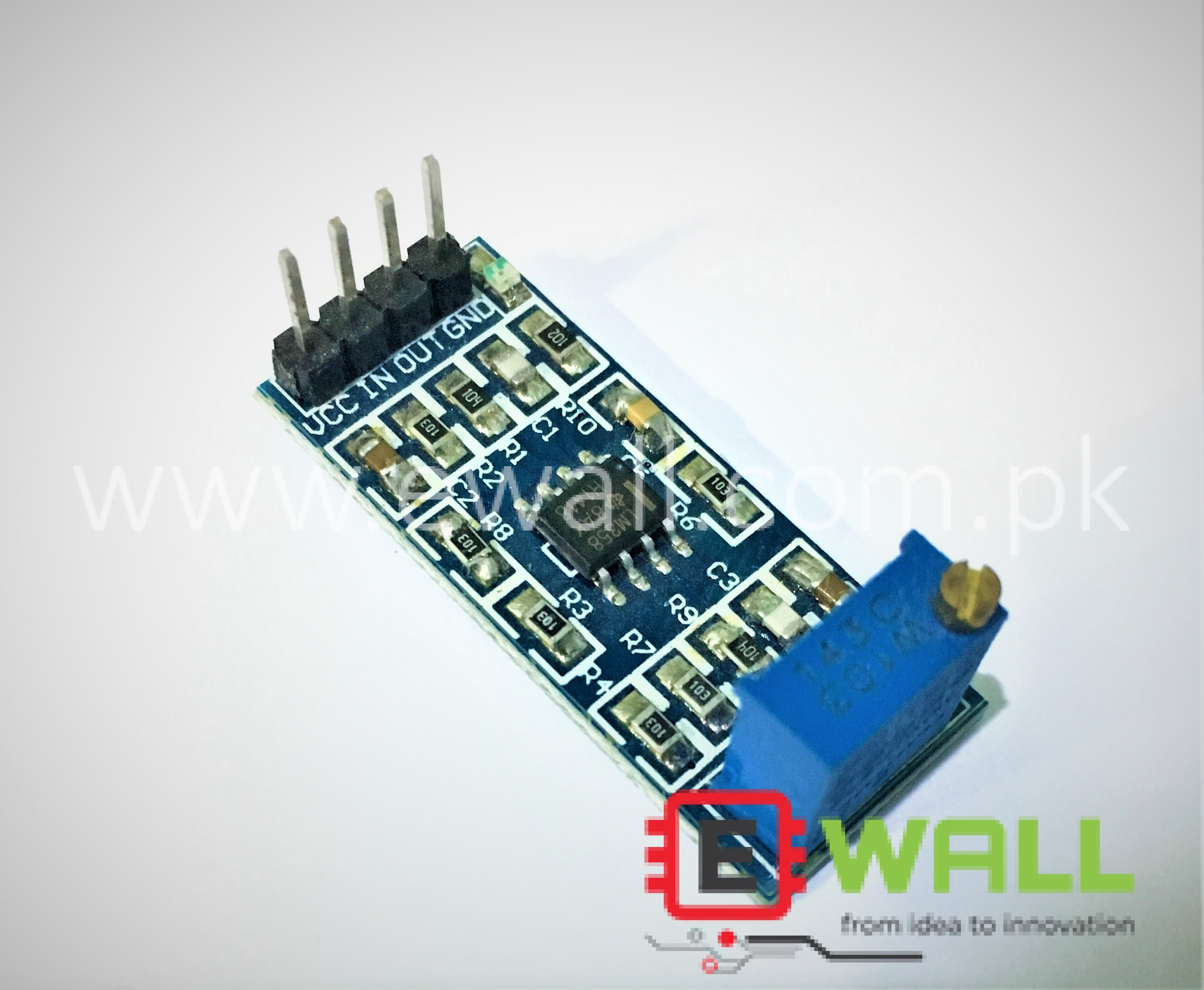 LM358 100 Times Gain Amplification Module Operational Amplifier Module