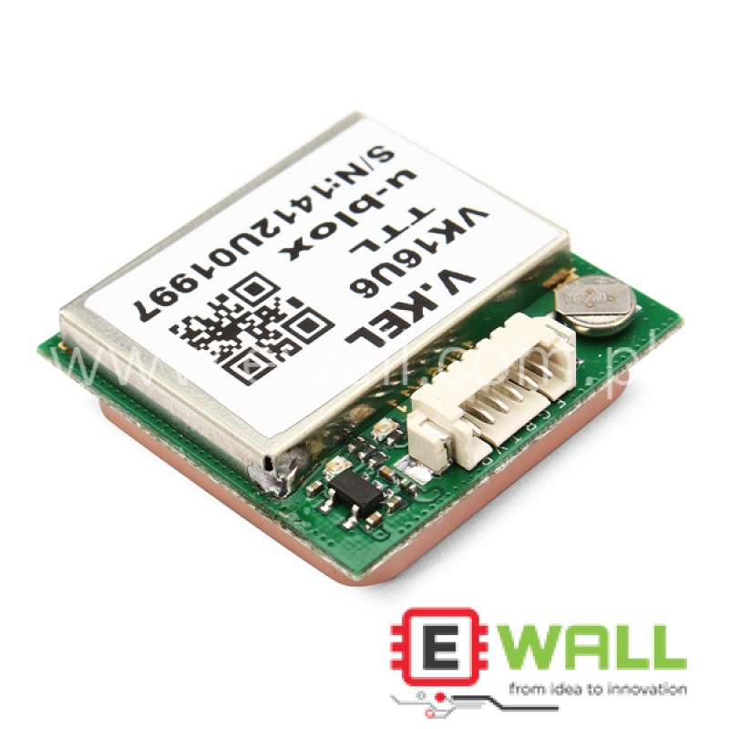 VK16U6 TTL Ublox GPS Module Without Connector