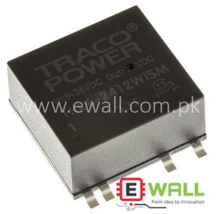 15V DC Isolated TracoPower THL 6-2413WISM DC/DC Converter