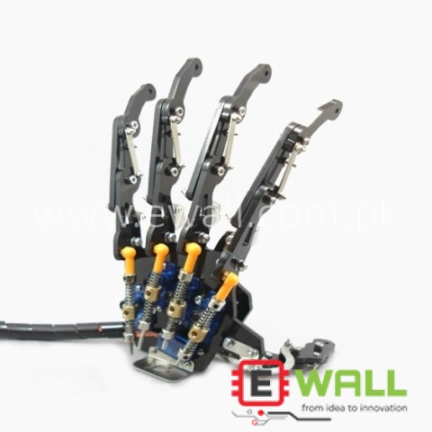 Bionic Hand Mechanical Robotic Claws / Manipulators / 5DOF Gripper (Left Hand) Assembled