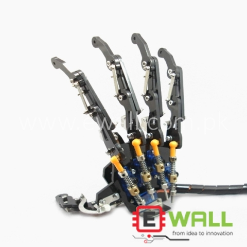 Bionic Hand Mechanical Robotic Claws / Manipulators / 5DOF Gripper (Right Hand) Assembled