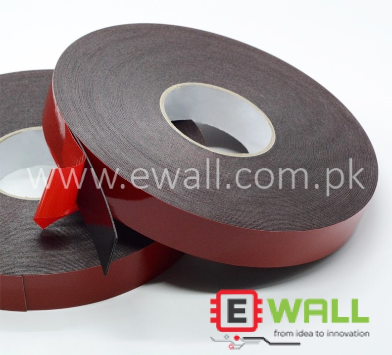 High Quality Double Tape Black (20mm wide x 10 meters long x 1mm thick)