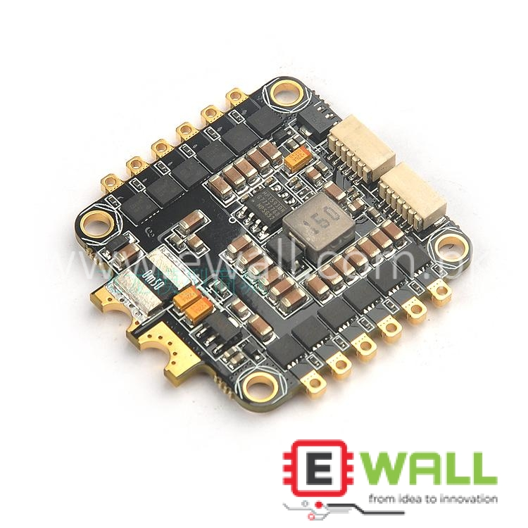 4 in 1 BS430 ESC 30A 3-6S 4 in 1 BLHeli-S firmware Dshot ESC for FPV Racing Drone compatible with omnibus