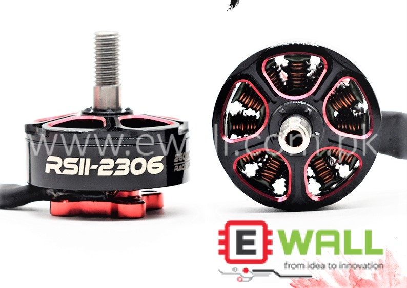 New EMAX RSII 2306 2nd Generation 2600KV Brushless Motor for FPV Racing Drone (CCW)