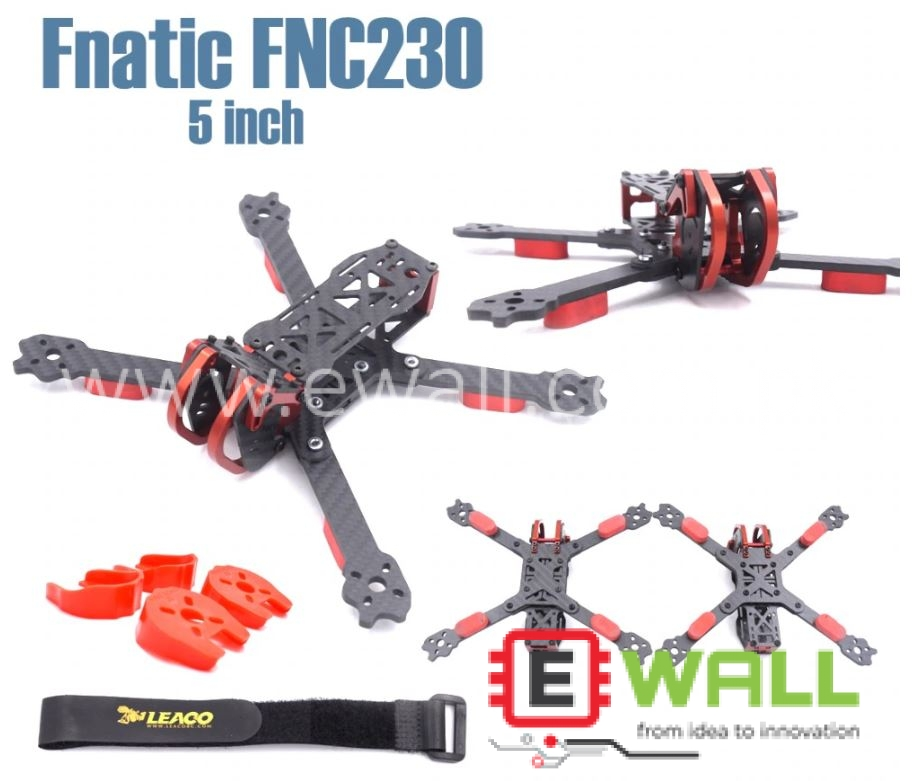 PUDA Rooster 230 230mm (Clone) FNC230 Aluminium and Carbon fiber frame for FPV Racing Drone
