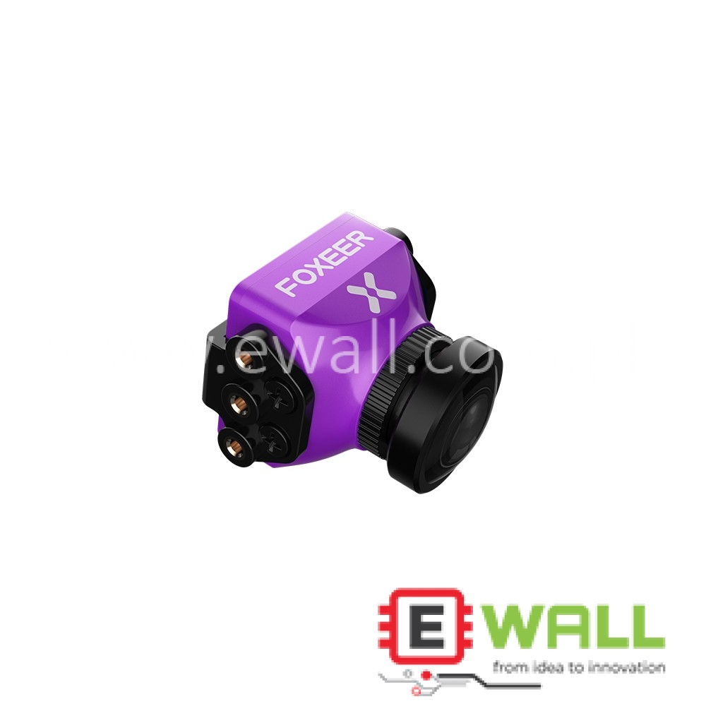 FOXEER Predator V3 FPV Camera 2.5mm  1000TVL For Racing Drone - Purple -