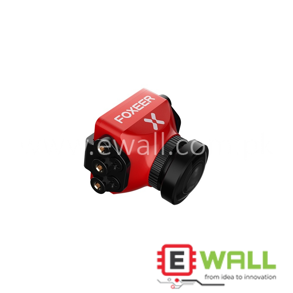 FOXEER Predator V3 FPV Camera 2.5mm  1000TVL For Racing Drone - Red