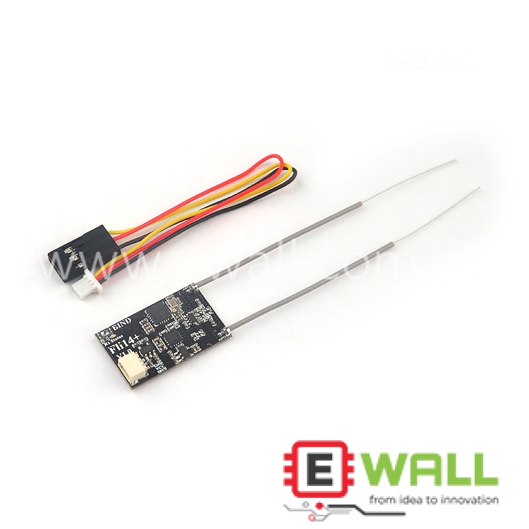 Flysky Fuss 2.4G Fli14+ Receiver 14 Channel OSD RSSI Output