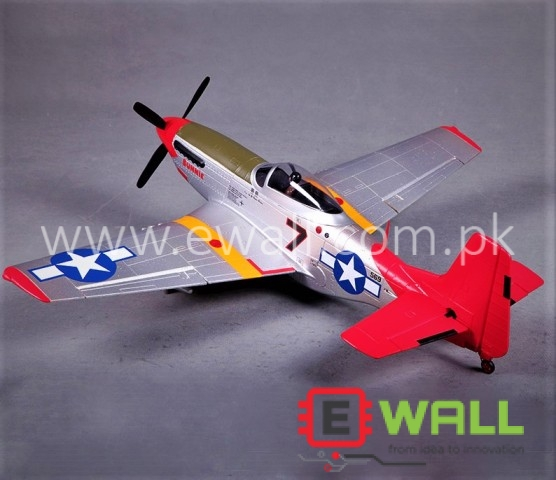 PNP P51D Mustang Fighter EPO World War II FMS Fixed Wing RC Airplane  (Plug and Fly )