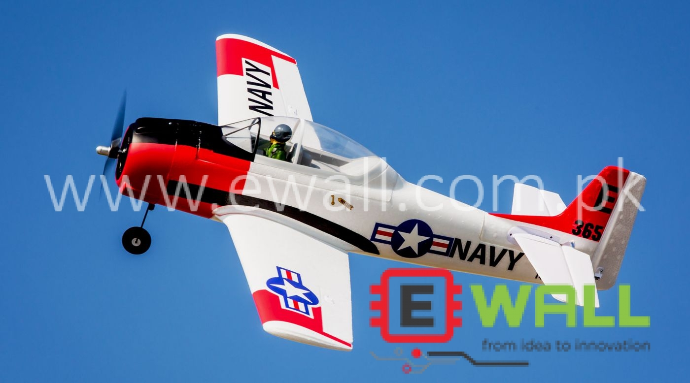 PNP T28 Trojan EPO Fixed Wing 800 RC Airplane ( Plug ans Play)
