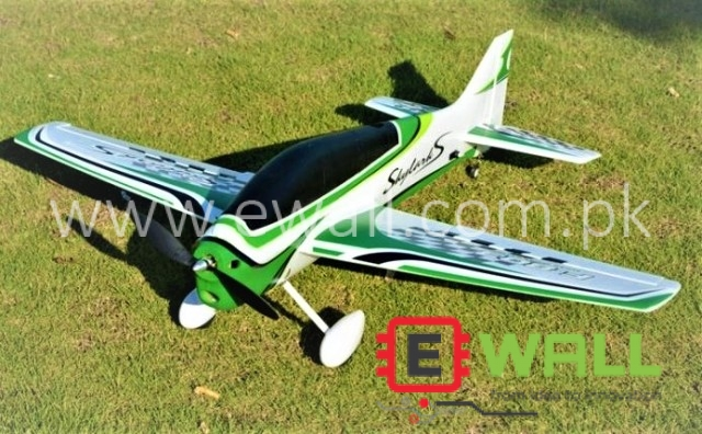 F3A F-803 950mm Wingspan EPO Trainer 3D Aerobatic Aircraft RC Airplane (GREEN)