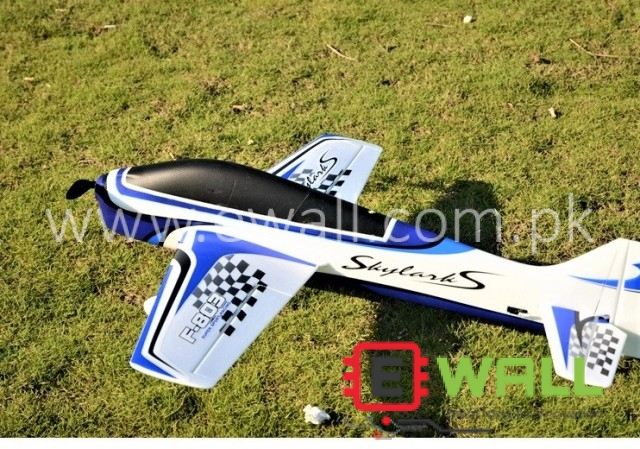 F3A F-803 950mm Wingspan EPO Trainer 3D Aerobatic Aircraft RC Airplane (BLUE)