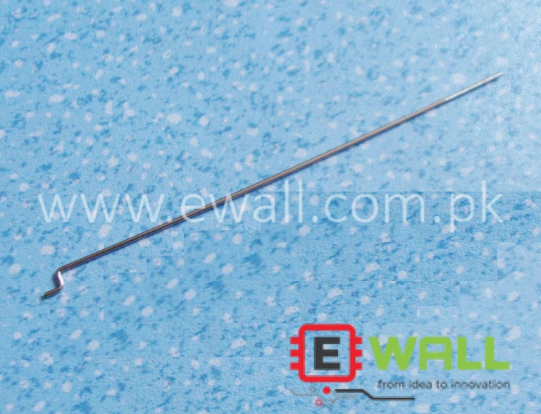 1.2mm dia 300mm Rudder Pull Rod ZigZag Wire Tapping + Z