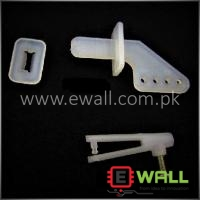 T Rudder Angle + U Chuck, with lever adjustment function plug rudder angle For RC Plane (rudder angle + chuck + screw)