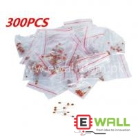 30 values, each value is 10pcs, total is 300pcs Ceramic Capacitors Kit