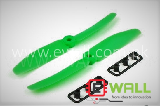 Gemfan RC 5030 Multirotor Propellers One Pair CW/CCW 5X3 (Green)