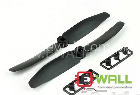 Gemfan RC 5043 Multirotor Propellers One Pair CW/CCW 5X3 (Black)