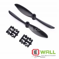 2Pcs Prop 6045 6x4.5 Black Propeller Props CW CCW For Quadcopter QAV250