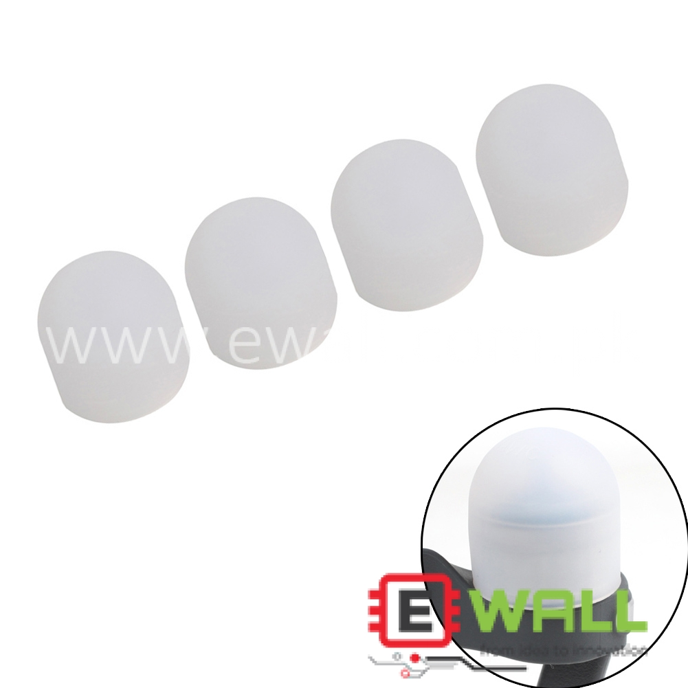4PCS Soft Silicone Cover Motor Cap Guard Protector Protection For DJI Mavic PRO White