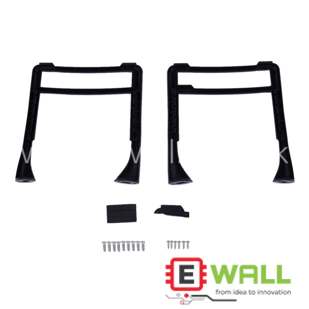 1 Pair High Extended Tall Landing Gear Landing Skid For Phantom 3 Black