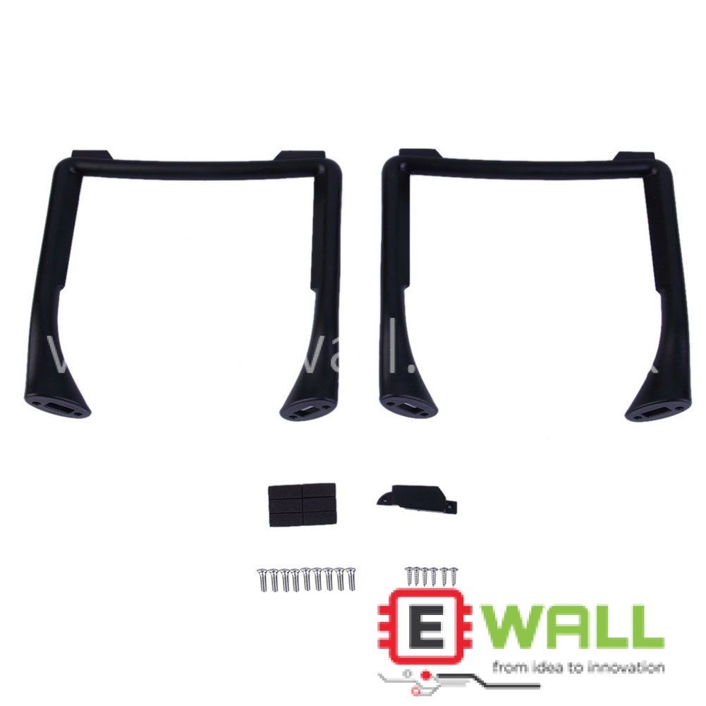 1 Pair Replacement Ground Clearance Landing Gears Skid For Phantom 3 Black