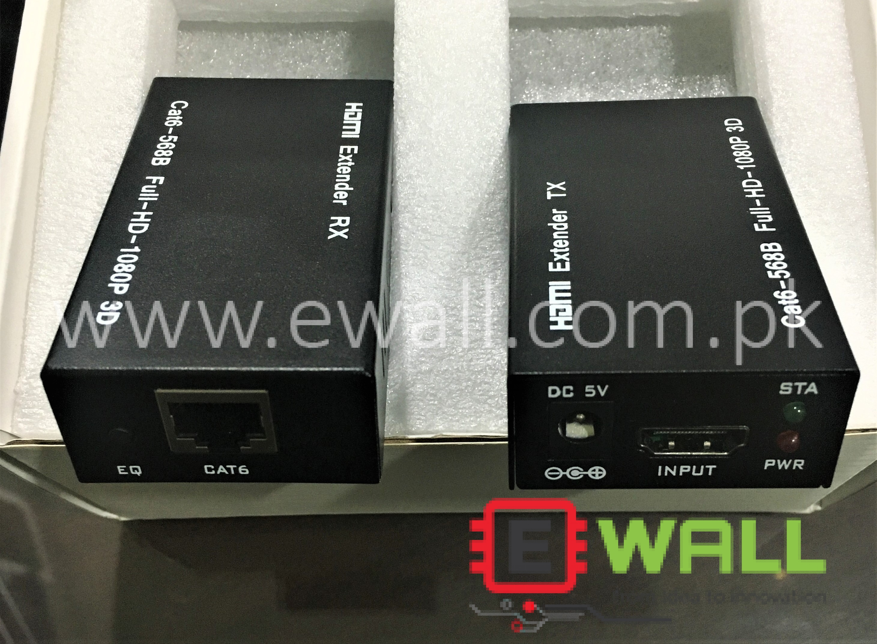 HDMI Extender RX & TX HDMI to Ethernet , Ethernet to HDMI