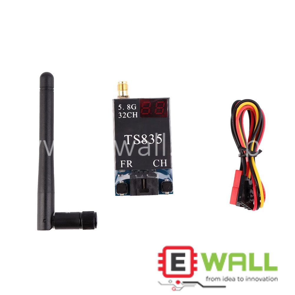 32Ch 5.8G 600MW Wireless AV Transmitter TS835 Receiver for FPV