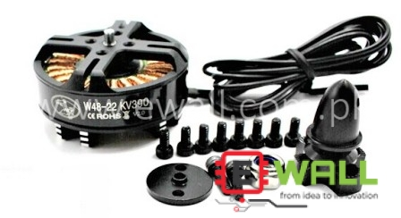 Brushless Motor W4822 390KV Outrnner Brushless Motor for multi-Copter