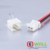 JST PH 2 Pin 2.54mm Pitch Cable with Male and Female Connector