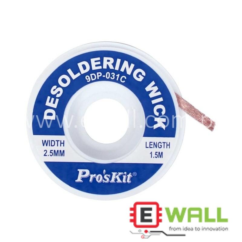 2.5 mm Desoldering Braid Solder Remover Wick Wire