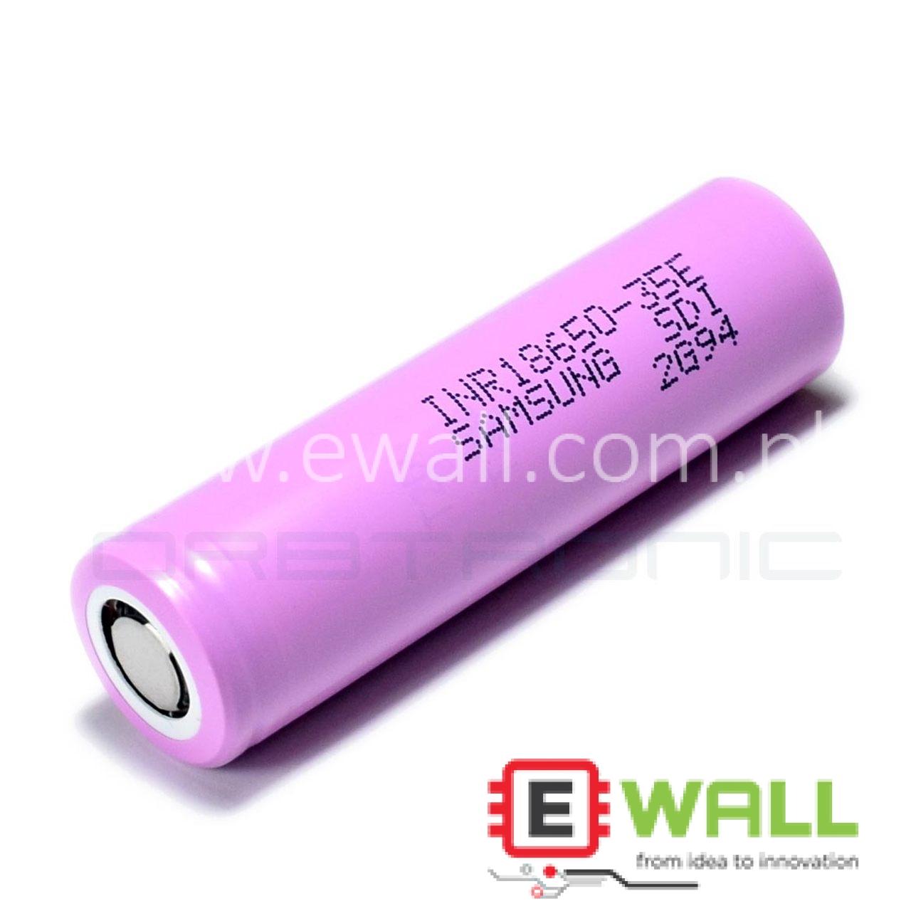 SAMSUNG INR-18650-35E 3.7V 3500mAh Lithium-ion Battery (Highest Density 100% Original)
