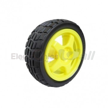 Robot car wheel 65mm tire