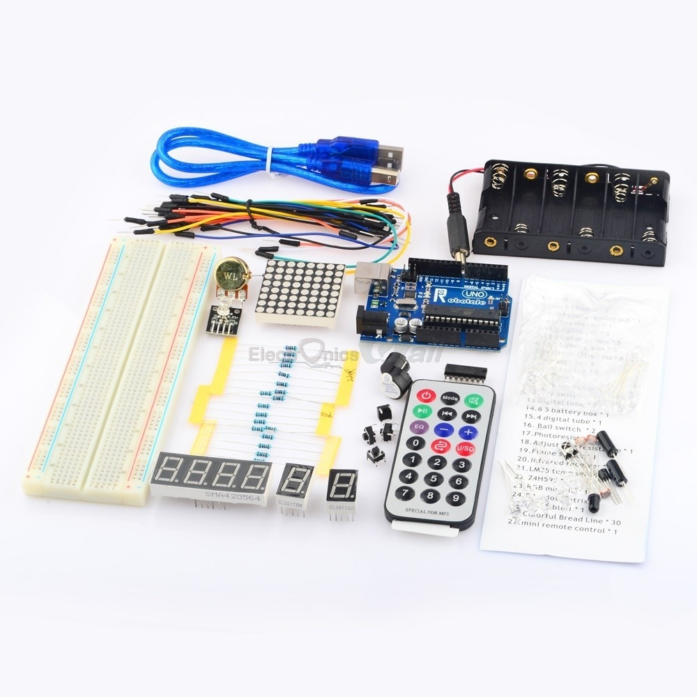 A Basic Learning kit for Arduino