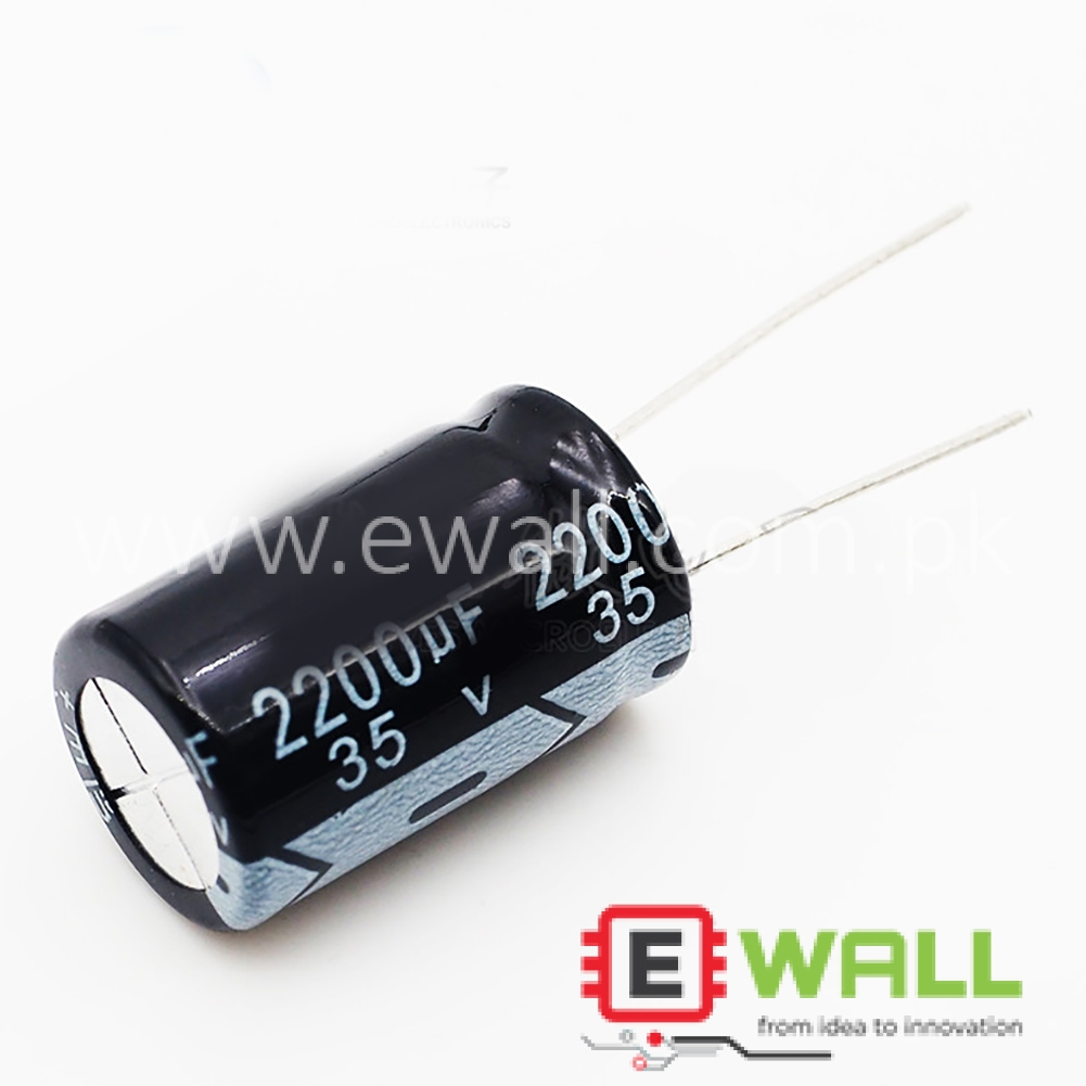 35V 2200UF 16*25mm new in-line Electrolytic Capacitor 35V 2200UF