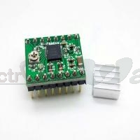 A4988 StepStick Stepper Motor Driver Module (35V, 2A) with heat-sink